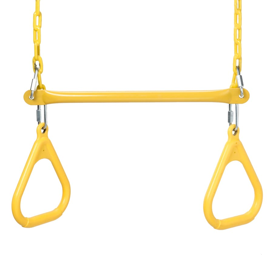 Swing-N-Slide Extra Duty Yellow Ring/Trapeze Combo