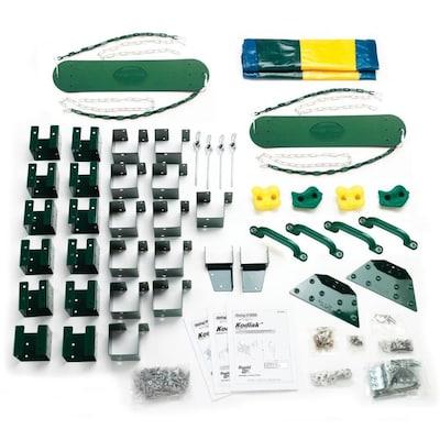 Kodiak Kit Residential Wood Playset