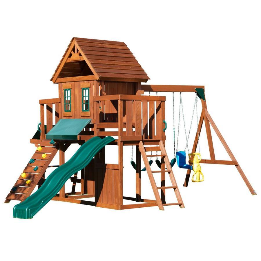 Swing N Slide Residential Wood Playset