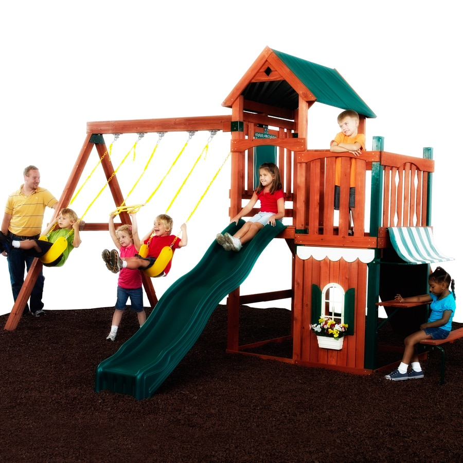 Swing-N-Slide Englewood Residential Wood Playset