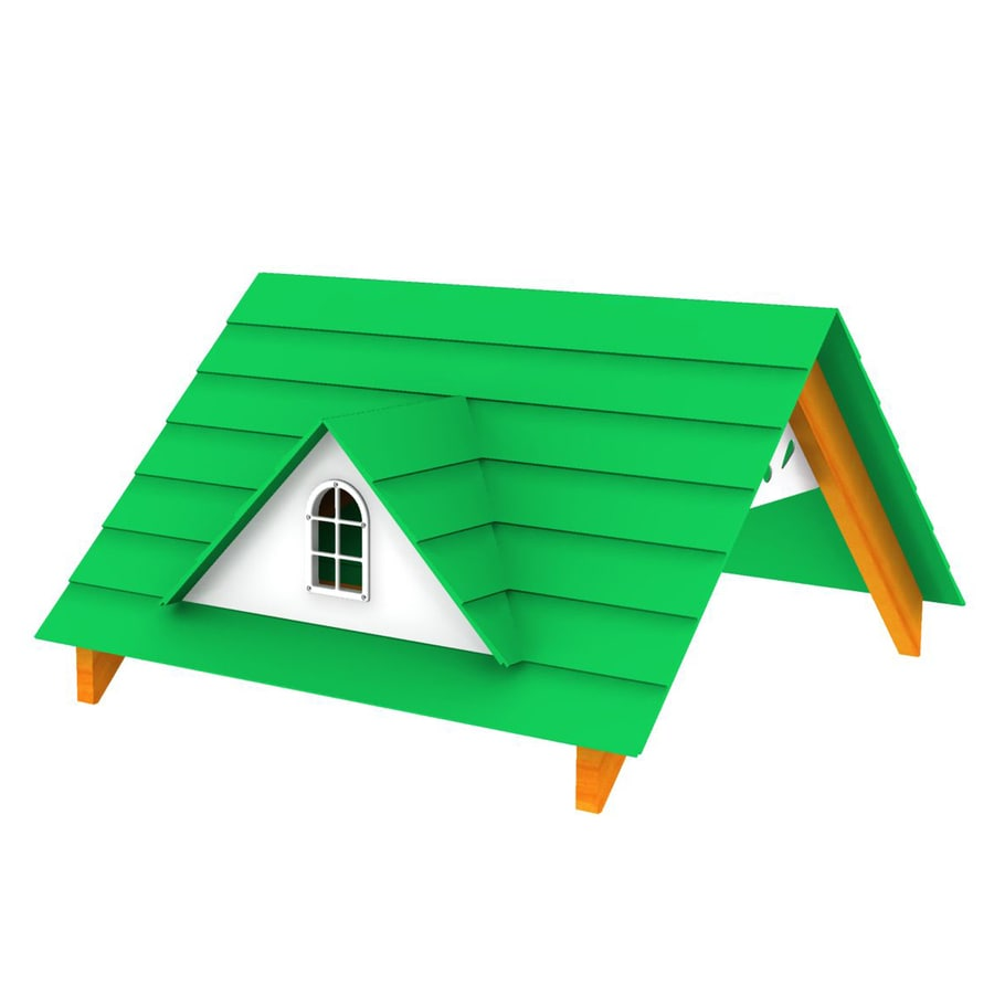 Shop Swing-N-Slide Residential Wood Playset Wood Roof at Lowes.com