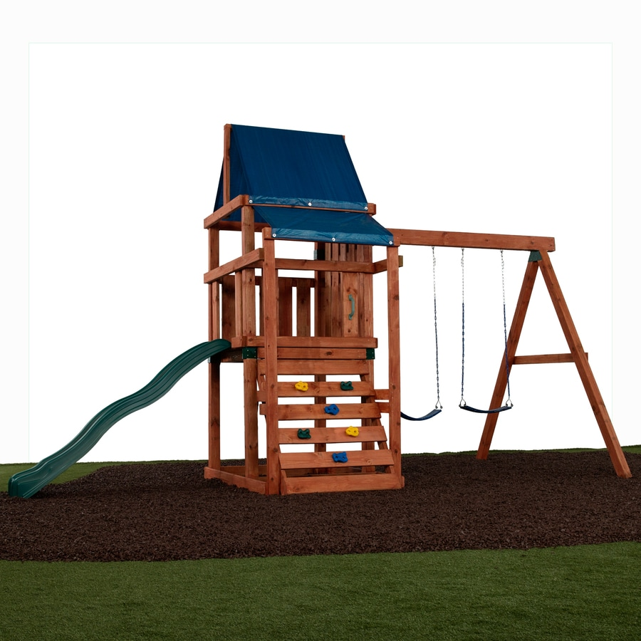 Swing N Slide Asheville Ready To Assemble Kit Residential Wood