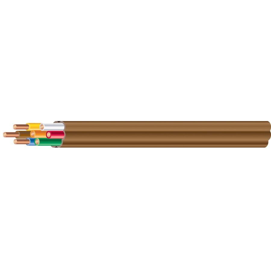 Shop 18 AWG 7-Conductor Thermostat Wire (By-the-Foot) at Lowes.com