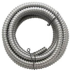 Southwire (Common: 1/2-in; Actual: 0.5-in) Metal Flex 50-ft Conduit