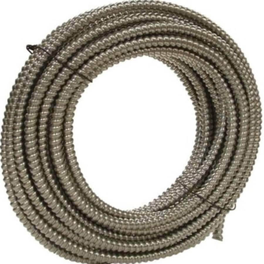 Southwire (Common: 1/2-in; Actual: .5-In) Metallic Flex 100-ft Conduit