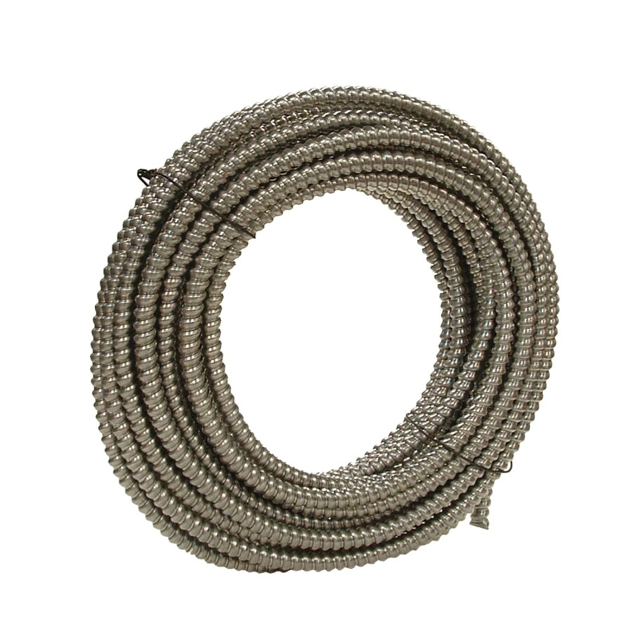 Southwire (Common: 3/8-in; Actual: 0.375-in) Metal Flex 100-ft Conduit