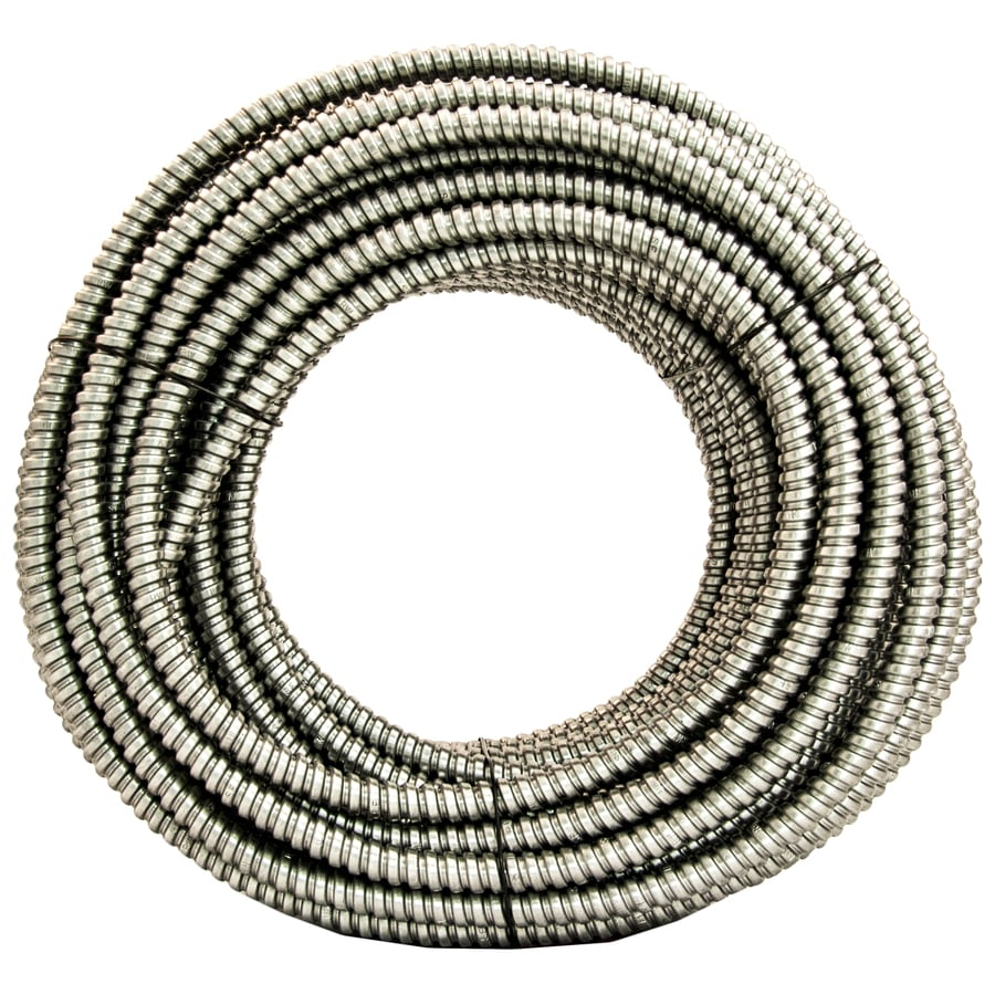 Southwire (Common: 3/8-in; Actual: .375-In) Metallic Flex 100-ft Conduit