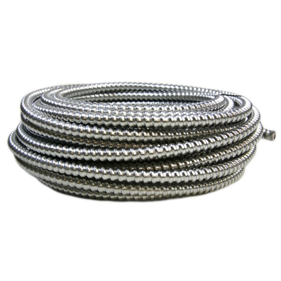 50-ft 14-3 Solid Aluminum BX Cable