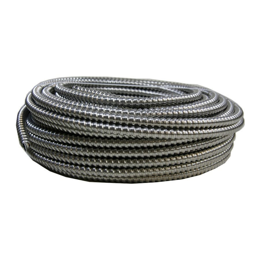 100-ft 12-3 Solid Aluminum BX Cable