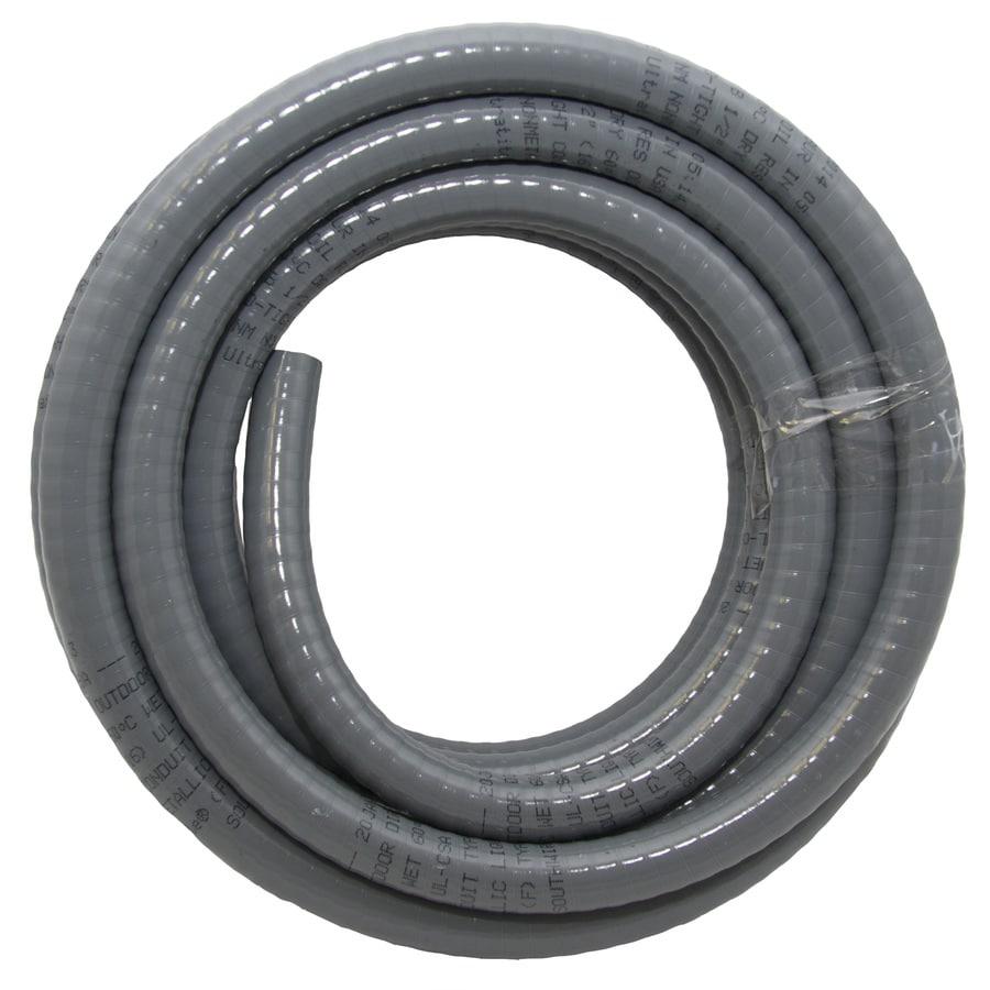 Southwire (Common: 1/2-in; Actual: .5-In) Non-Metallic Liquid-Tight 25-ft Conduit