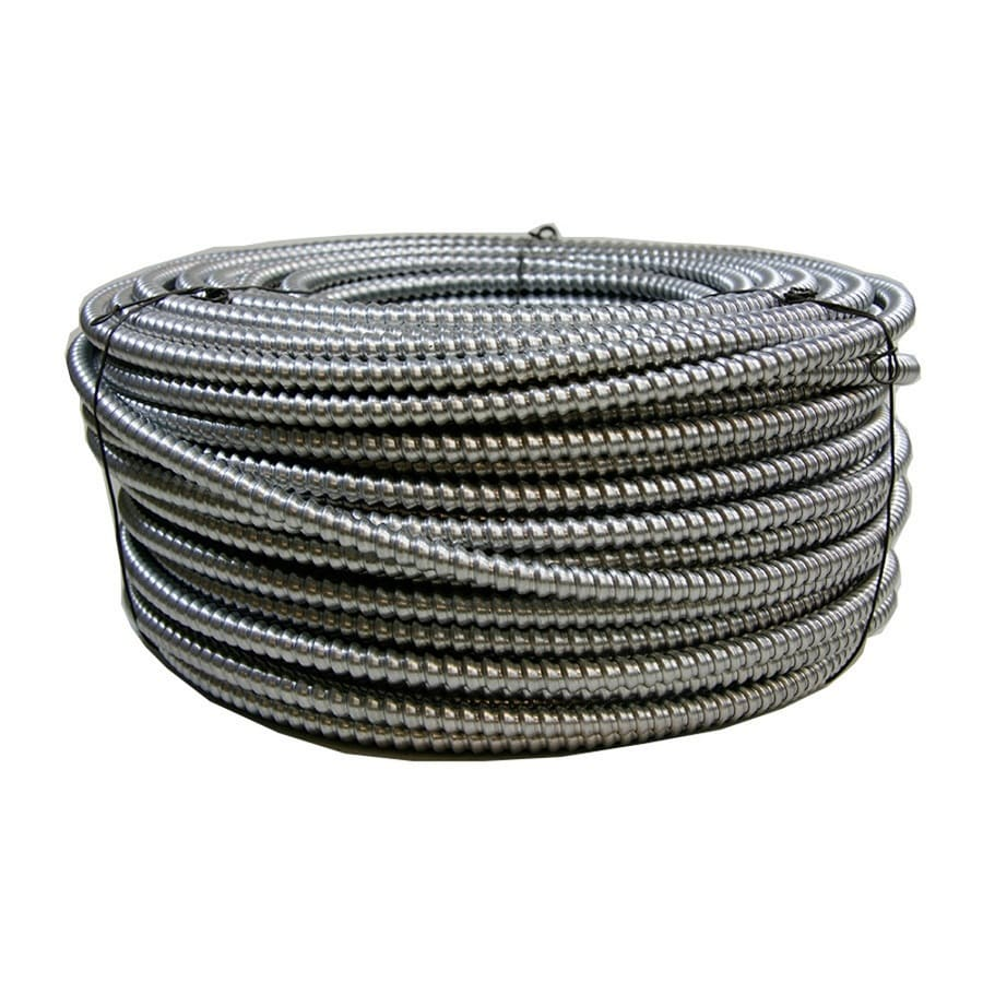 Lowes 10 Gauge Steel Wire Simple Wiring Diagram Ook 14gauge X 100 Ft Galvanized Wire50142 The Home Depot 250 3 Solid Bx Cable At Com Insulated