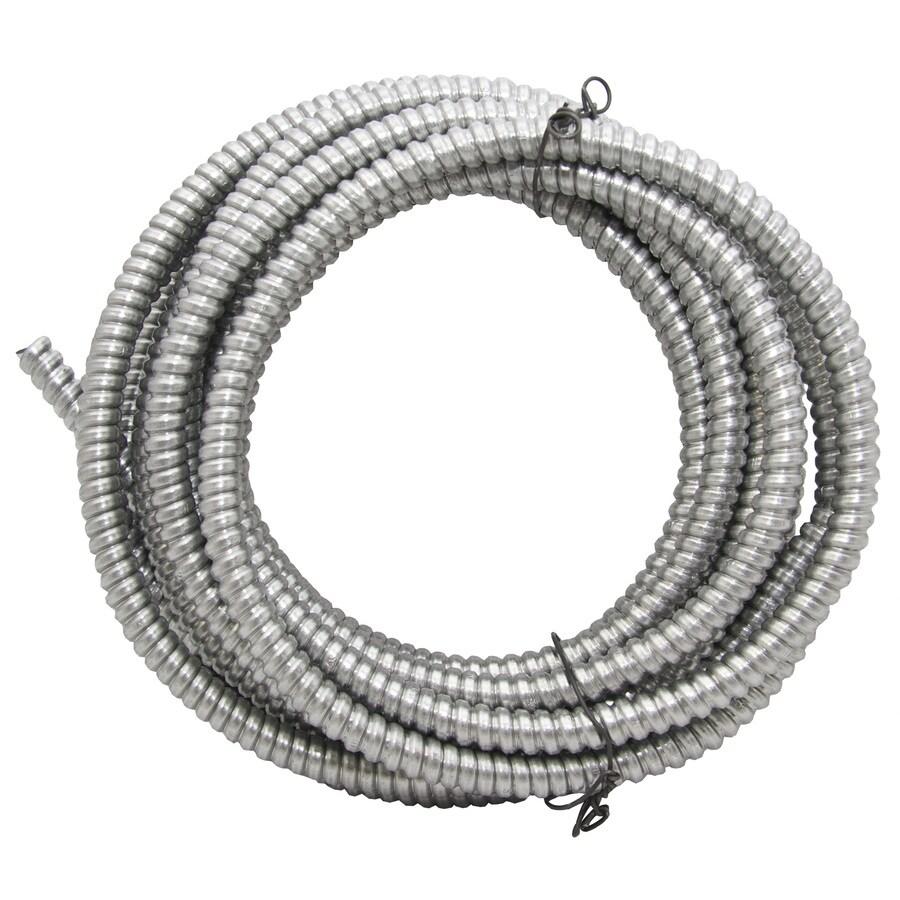 Southwire (Common: 3/8-in; Actual: .375-In) Metallic Flex 25-ft Conduit