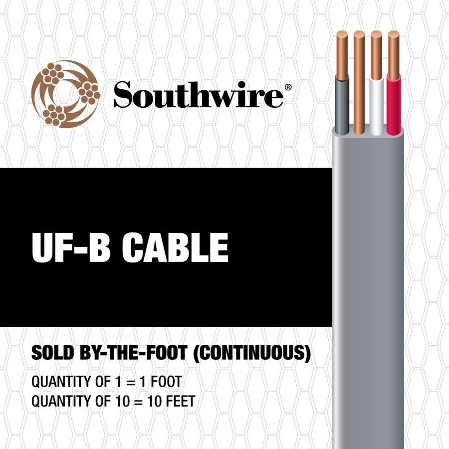 14-3 UF Wire (By-the-Foot)