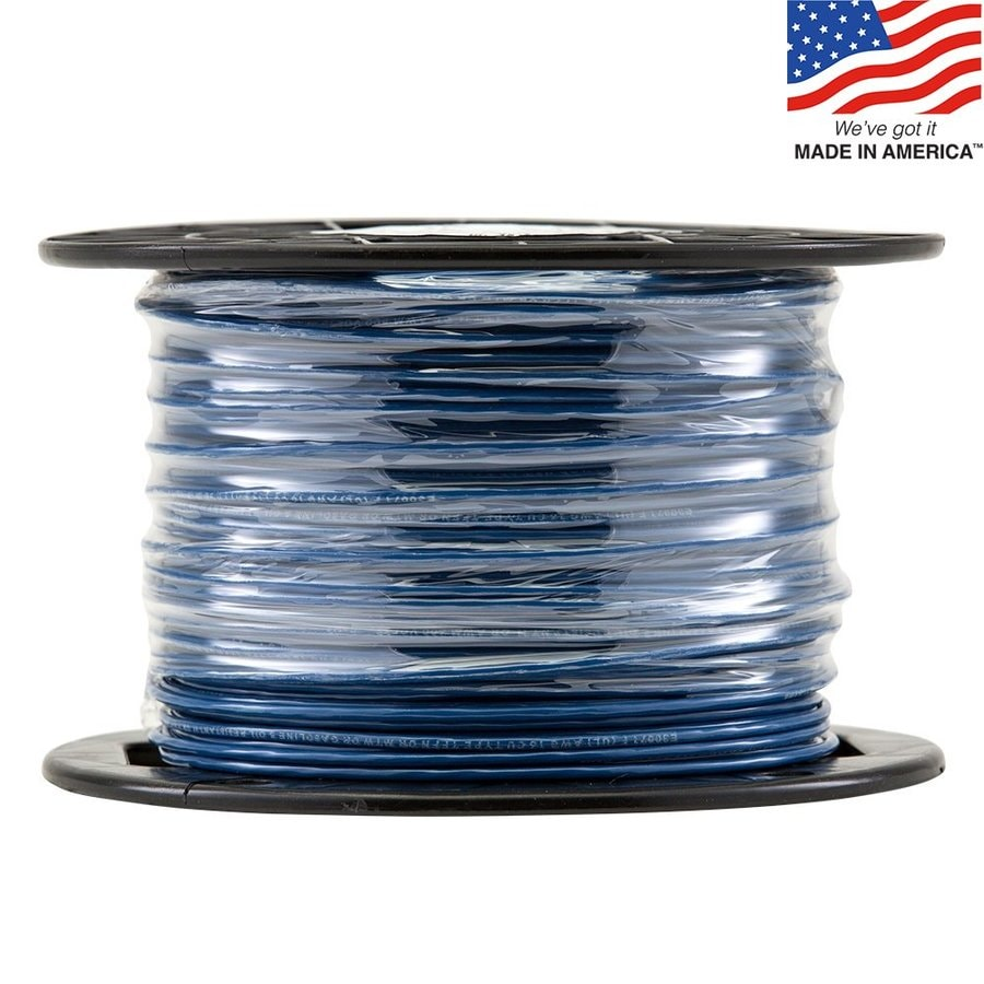 500-ft 16-Awg Stranded Blue TFFN Wire (By-the-Roll)
