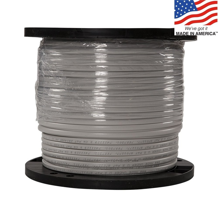 Shop Southwire Romex Simpull 1000 Ft 14 2 Non Metallic Wire By The Wiring My Basement