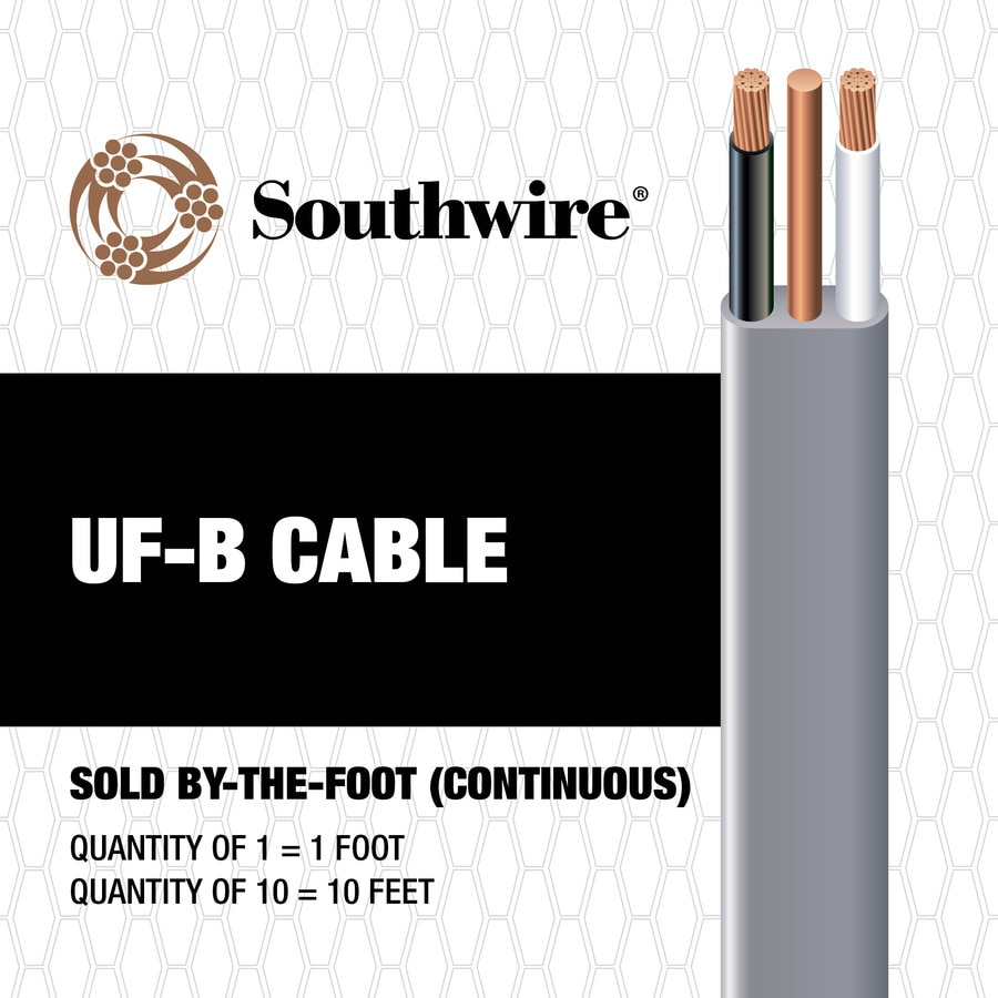 8 AWG - 2 UF Wire (By-the-Foot)