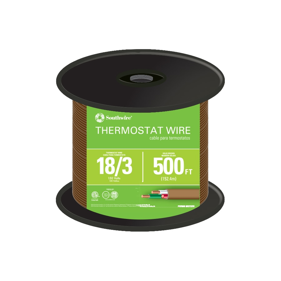 Thermostat Wire At Fire Pump Electrical Wiring 500 Ft 18 Awg 3 Conductor By The