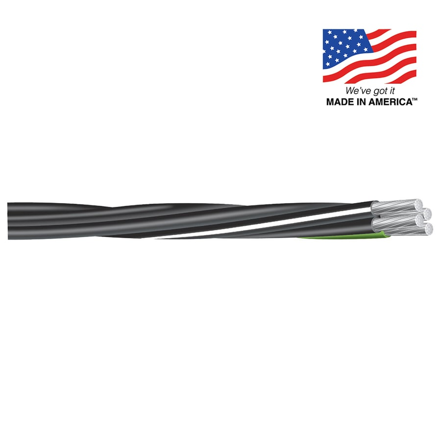 Southwire 2/2/4/6 Aluminum Mobile Home Feeder Cable