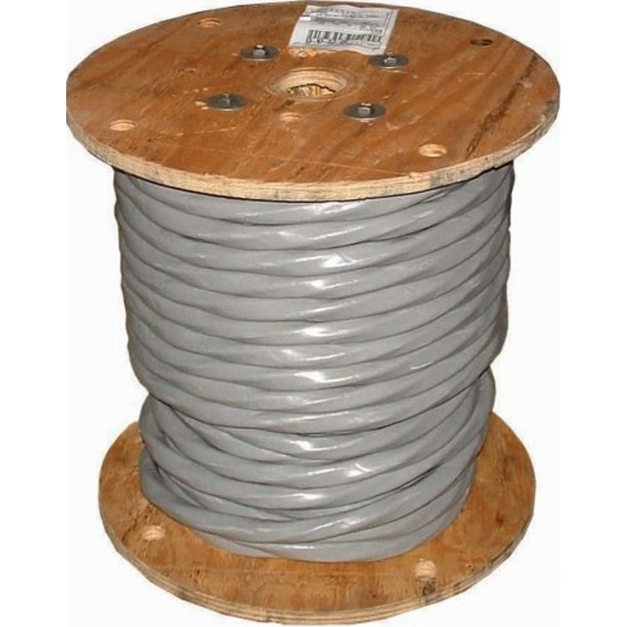 2/0-2/0-2/0-1 Aluminum SER Service Entrance Cable (By-the-Roll)