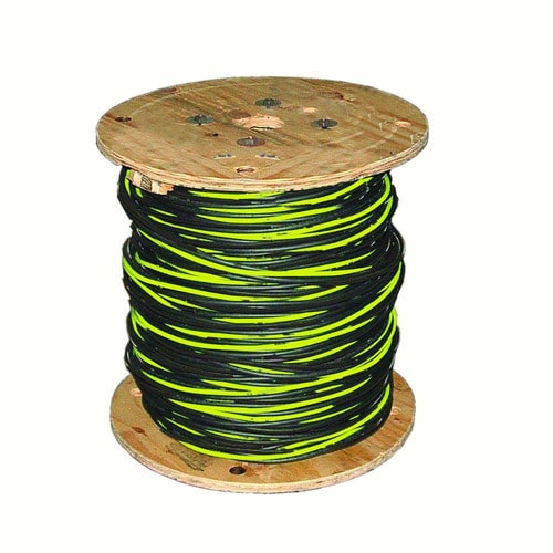 350 Aluminum URD Dyke 2-2-2-4 Cable Direct Burial Quadruplex Secondary Wire