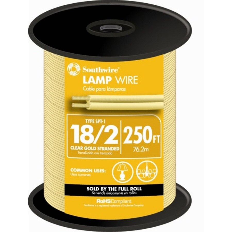 250-ft 18-AWG 2-Conductor Clear Lamp Cord