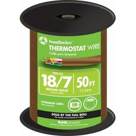 50-ft 18/7 thermostat wire (by-the-roll)