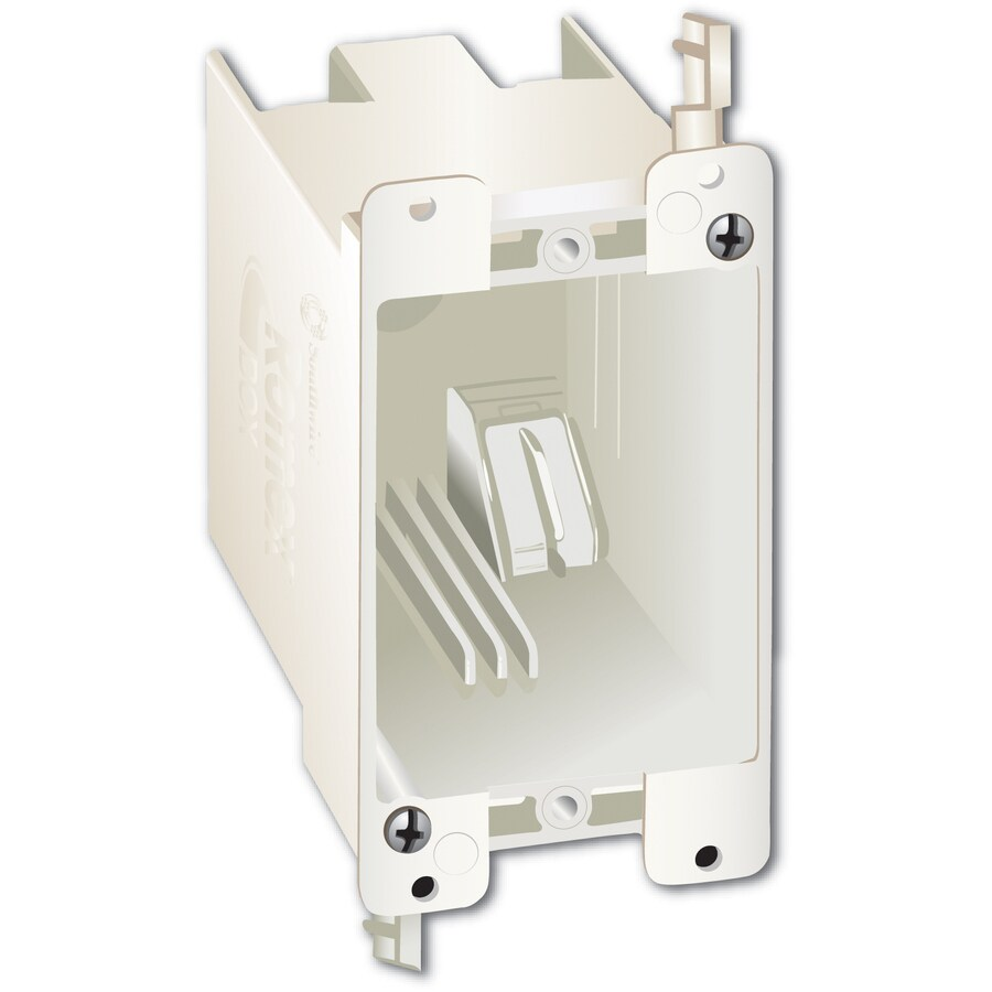 14-cu in 1-Gang Plastic Old Work Wall Electrical Box