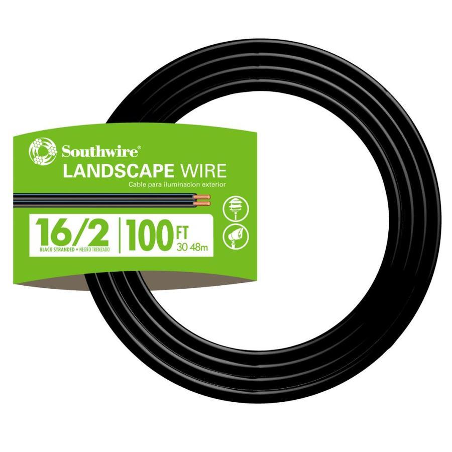 Landscape Lighting Wire Gauge: Shop 100-ft 16/2 Landscape Lighting Cable At Lowes.com