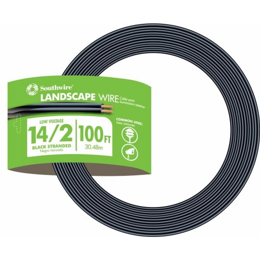 Southwire 100-ft 14-Gauge 2-Conductor Landscape Lighting Cable