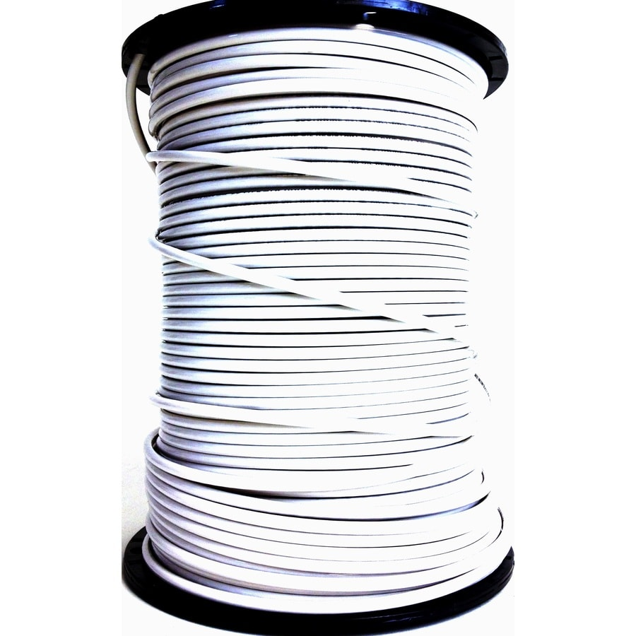 18 4 Wire | Southwire 1000 Ft 18 4 Stranded Shielded White Security Cable At