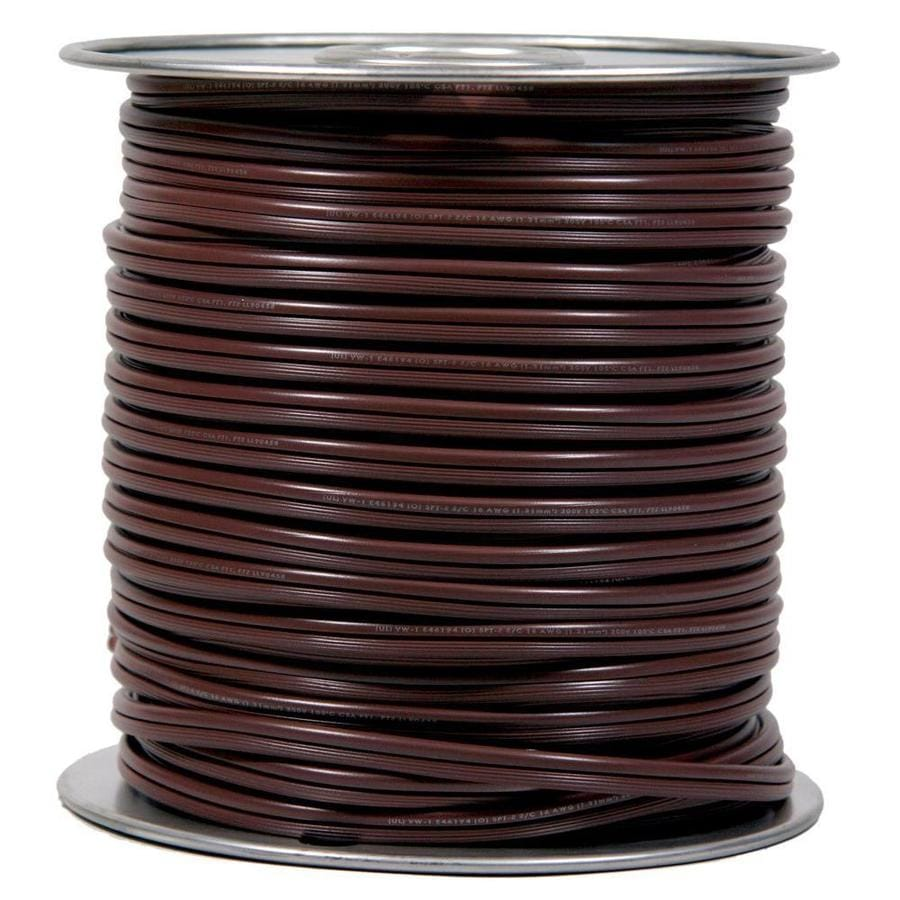 250-ft 14 Awg to 2 In-wall Speaker Wire (By-the-Roll)