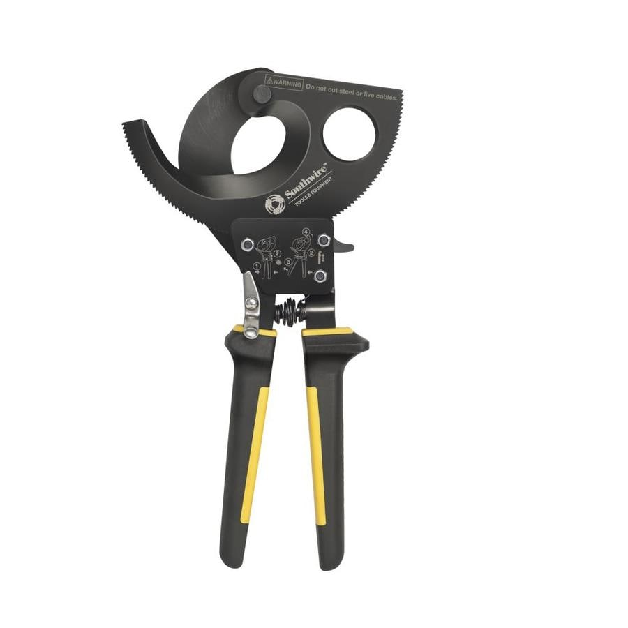 Southwire Heavy Duty Ratcheting Cable Cutter At Lowes Com