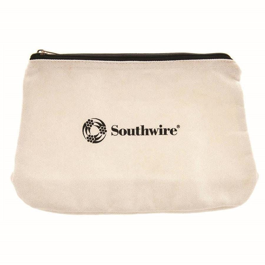 Southwire 12-in Canvas Zipper Storage Bag