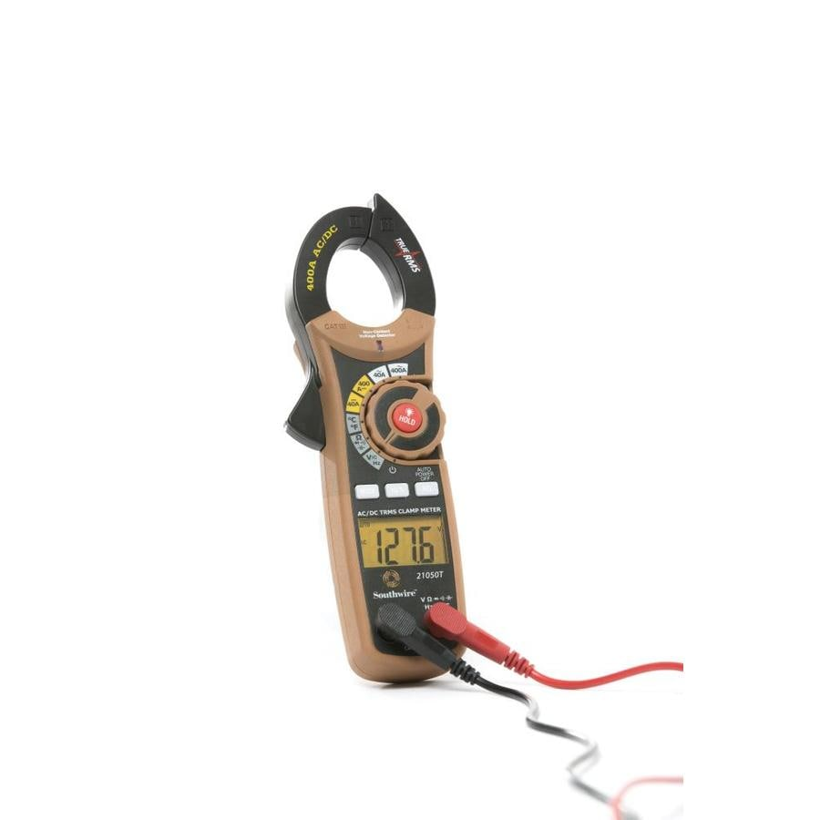 Ac Dc True Rms Clamp Meter : Shop southwire amp ac dc true rms clamp meter at lowes