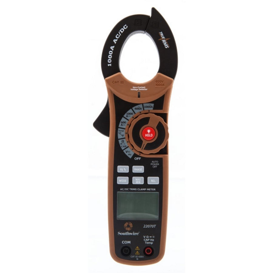 Test Meters At Extech Ac Circuit Breaker Finder Receptacle Tester Southwire 1000 Amp Dc True Rms Clamp Meter