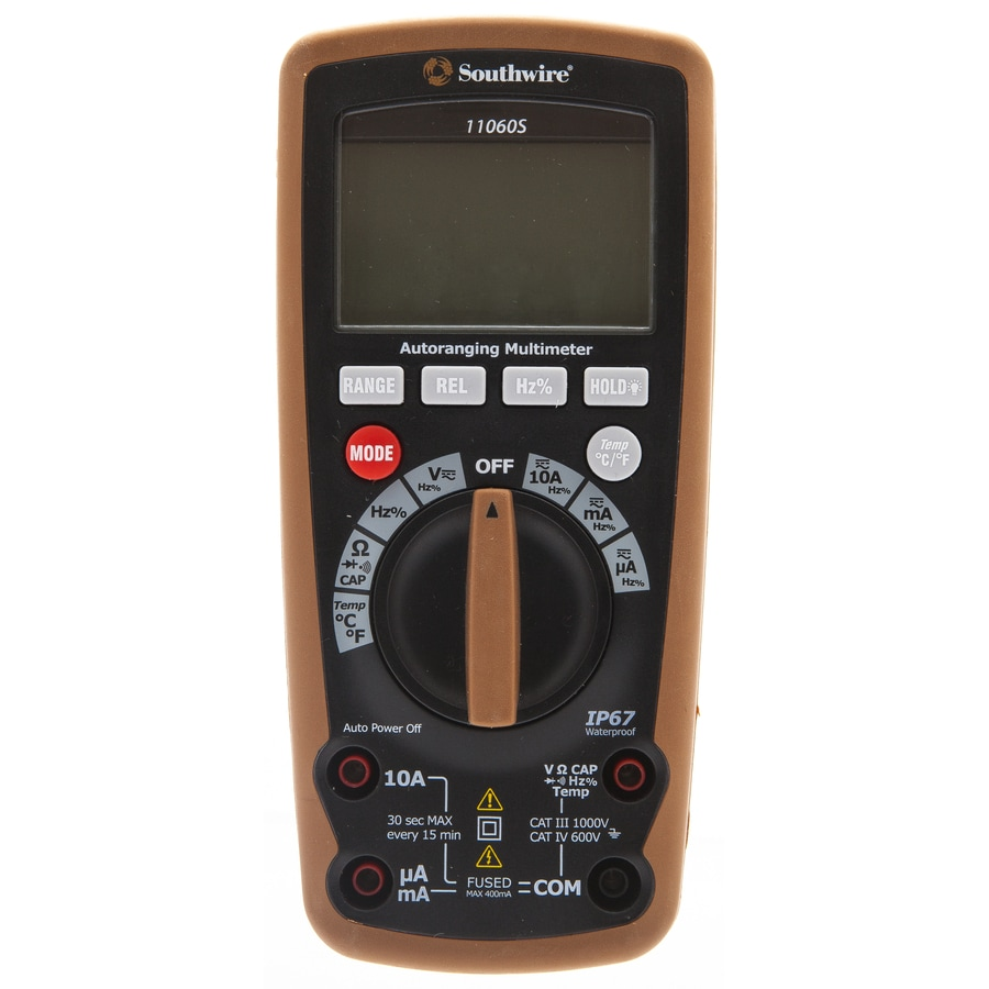 Southwire Digital 1000-Volt Multimeter