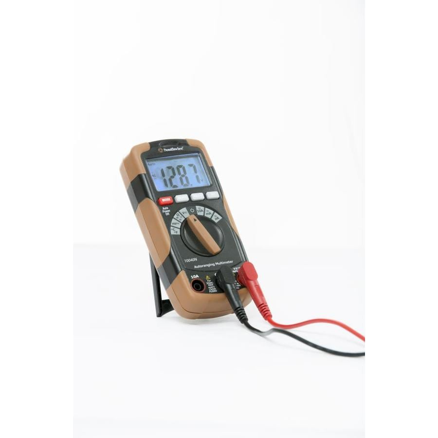Shop Southwire Digital 600-Volt Auto Ranging Multimeter at Lowes.com