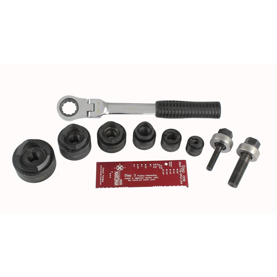 Southwire 9-Piece Max Punch Knockout Punch Set