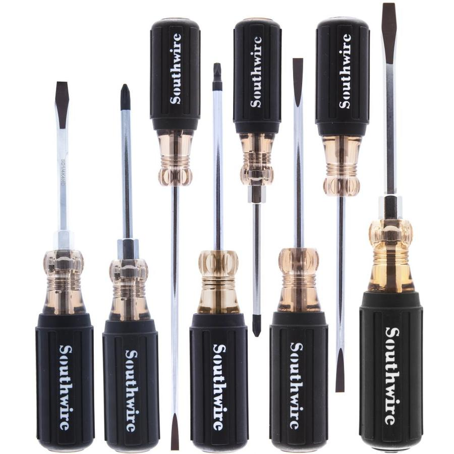 Southwire 8-Piece Cushion Grip Screwdriver Set