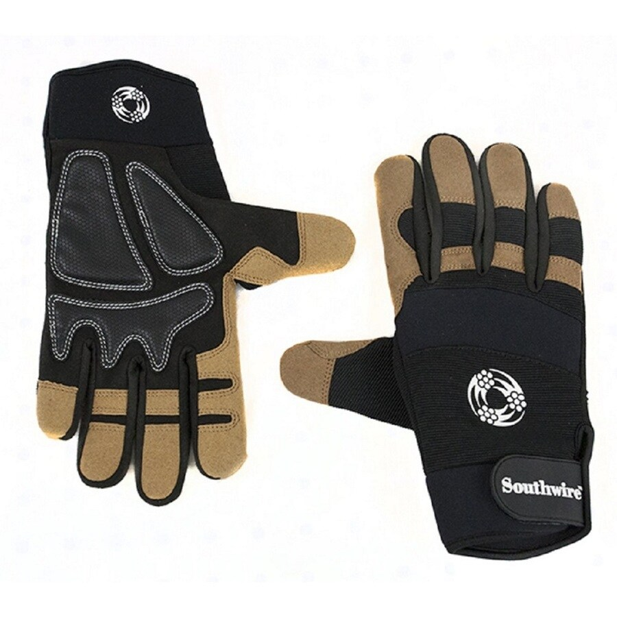 Southwire Large Unisex Leather Multipurpose Gloves
