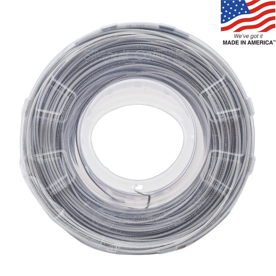 Shop Southwire 1000-ft 12-AWG Stranded White Copper THHN Wire (By ...