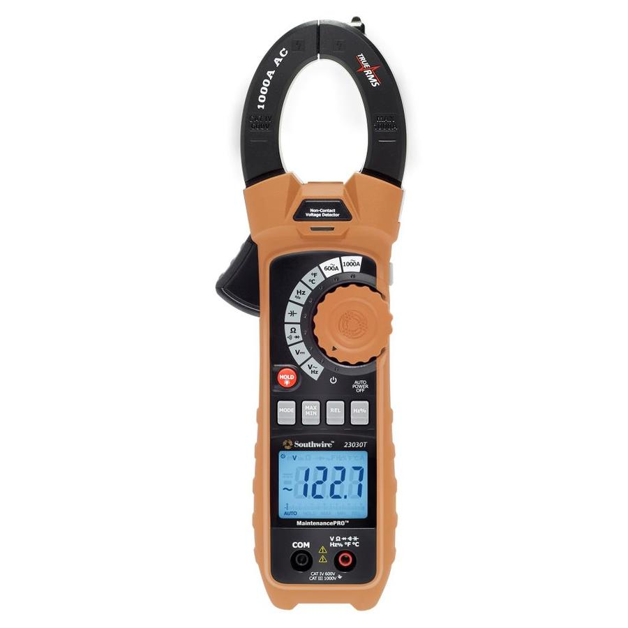 Southwire Digital 1000-Volt Clamp Meter