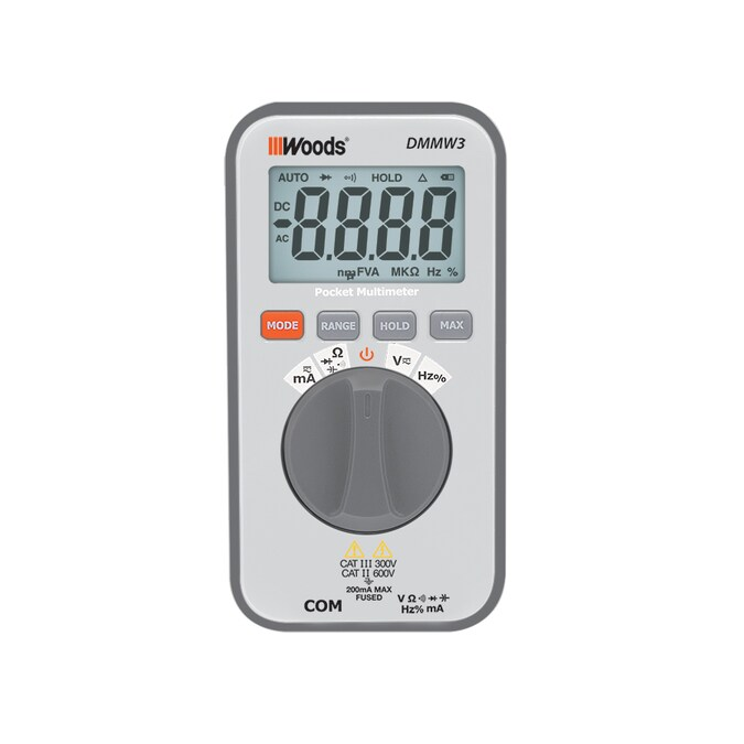 Southwire Pocket Digital 600-Volt Test Meter (Battery Included) in