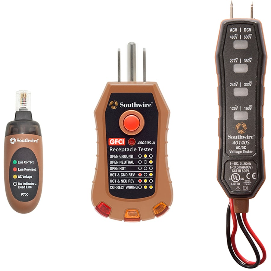 Southwire Digital 120-480-Volt Test Set Meter
