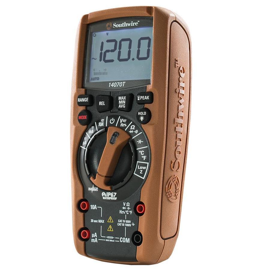 Southwire Digital Multimeter Meter