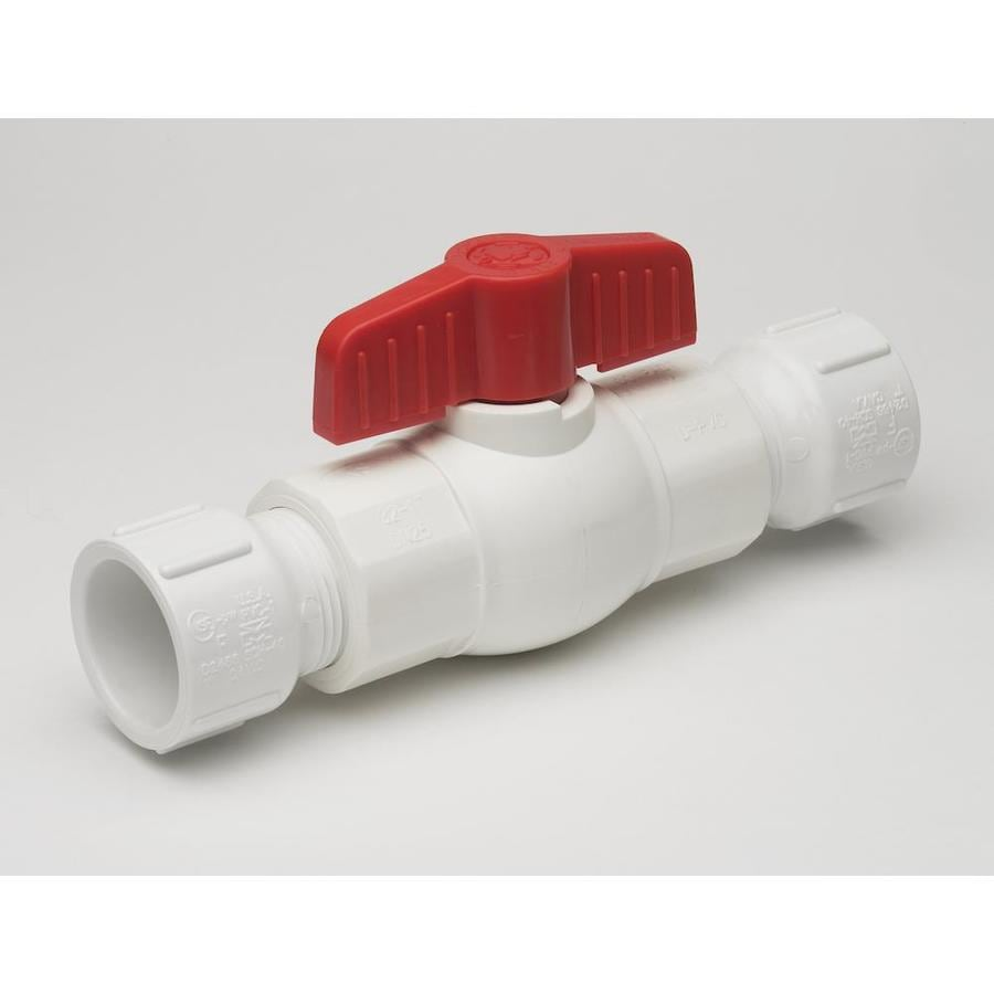 Mueller Streamline 1-in PVC Sch 40 Female In-Line Ball Valve