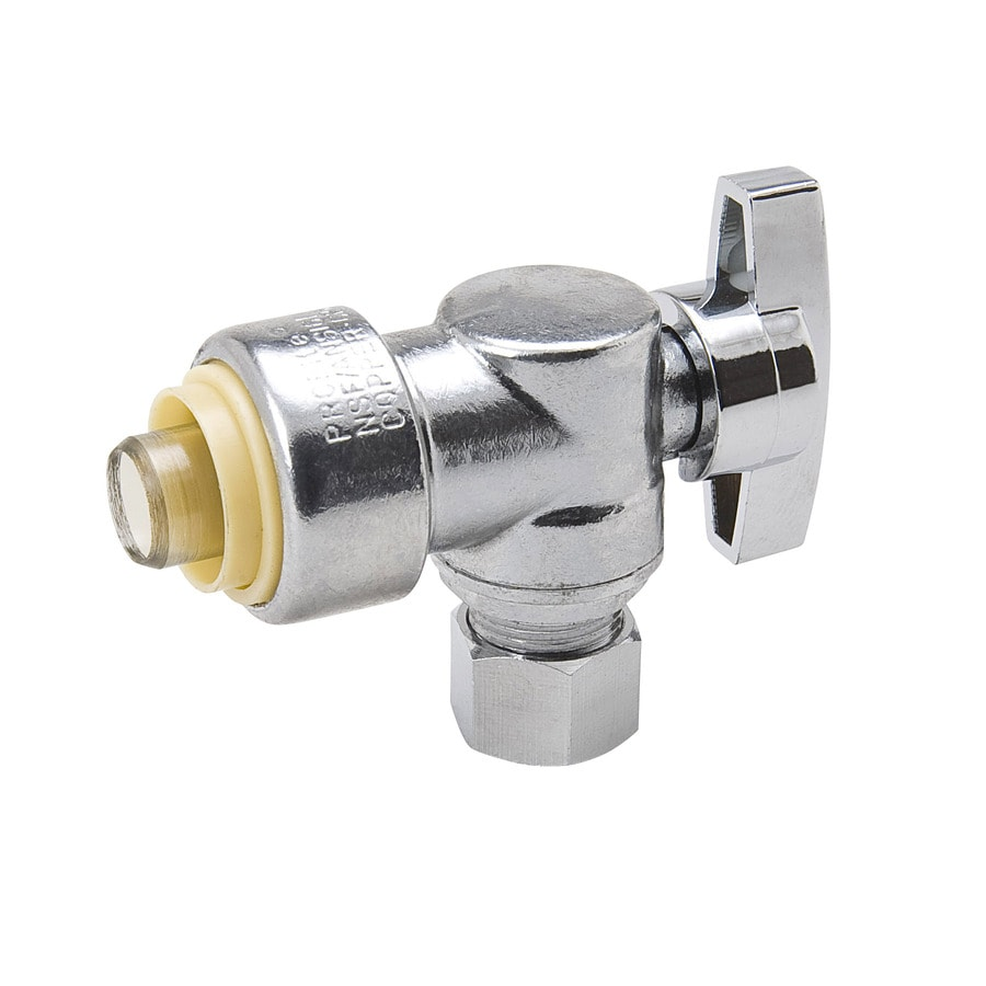 Blue Hawk Brass Angle Valve
