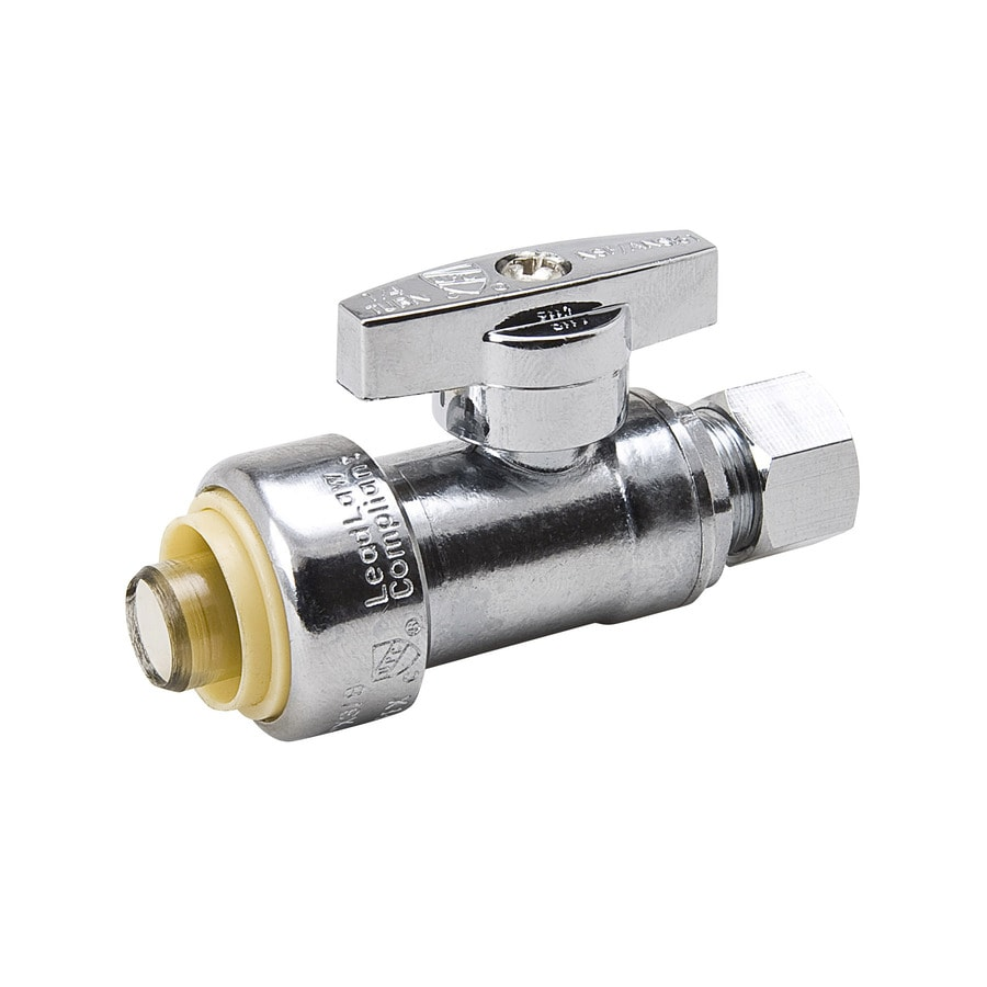 Blue Hawk Brass Straight Valve