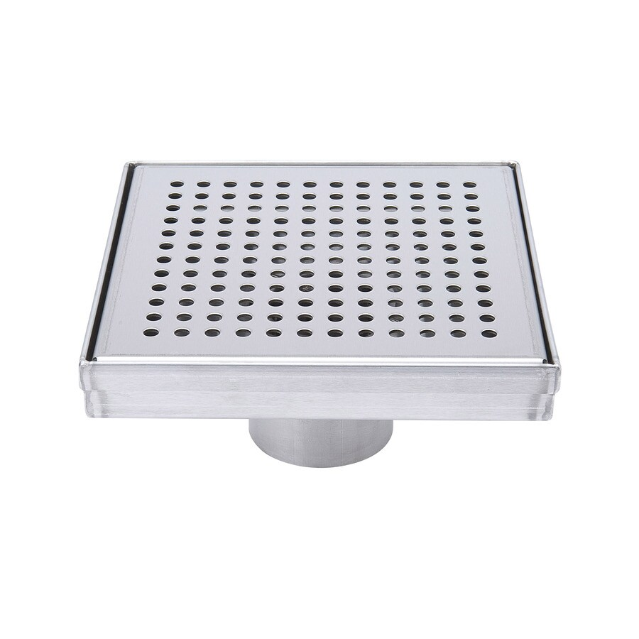 B&K Gray Stainless Steel Linear Shower Drain