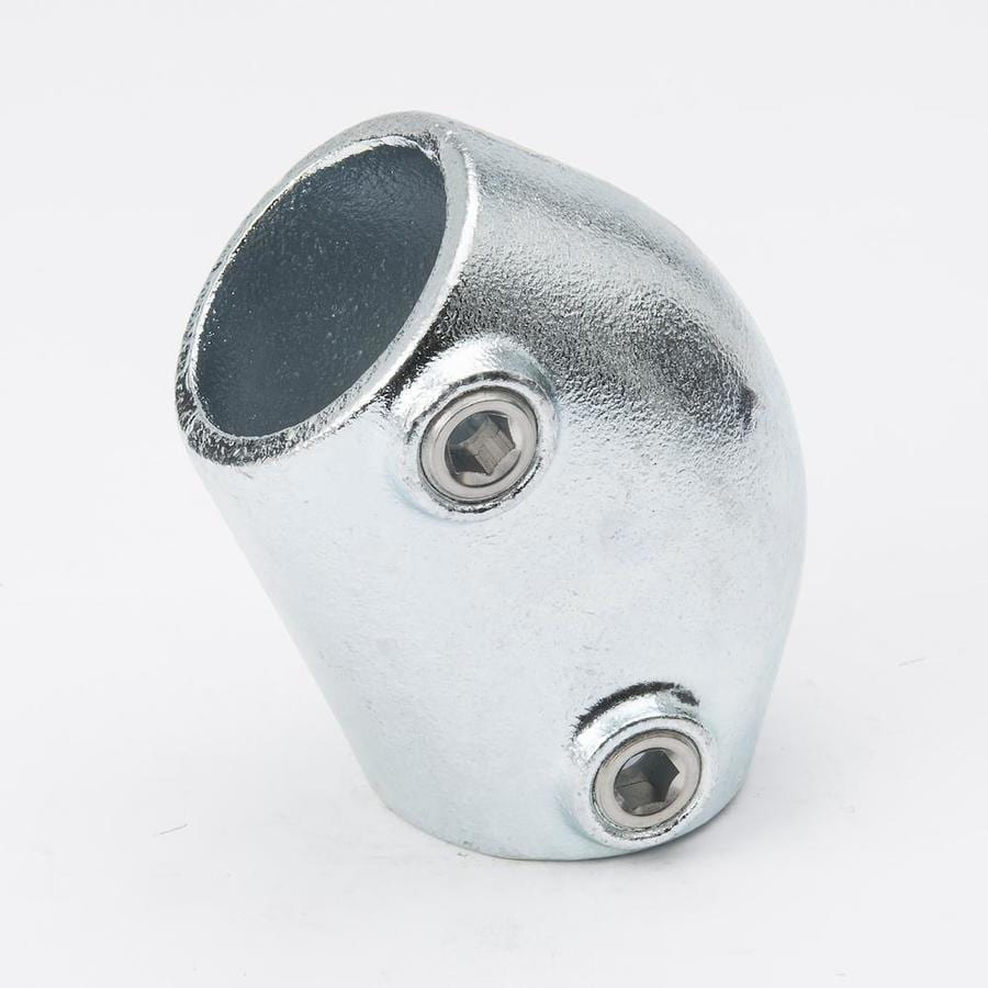 B&K 1-1/4-in x 1-1/4-in 45-Degree Gray Galvanized Steel Structural Pipe Fitting Elbow
